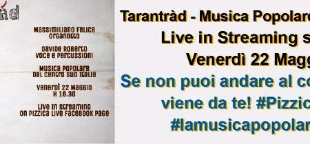 TaranTrad Live in Streaming on Pizzica Live – video