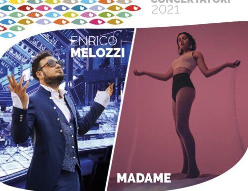 """Madame e Enrico Melozzi sono i maestri concertatori dell'orchestra: """"La Notte della Taranta 2021"""""""